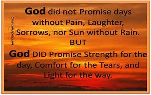 """""""God did n... Pain And Laughter Quotes"""