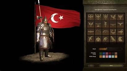 Mods Turkish Banner Bannerlord Mount Flag Uploaded
