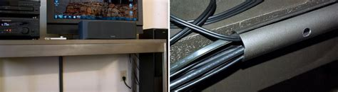 desk cable management simple cord management solutions that can make easier
