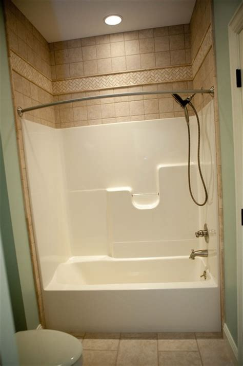 tiling a bathtub enclosure 2012 projects traditional bathroom chicago by
