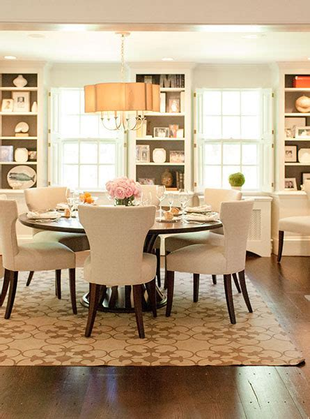 Dining Room With Built Ins  Transitional  Dining Room