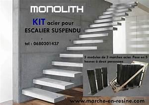 Prix Escalier Beton : escalier flottant prix escalier flottant escalier ~ Mglfilm.com Idées de Décoration