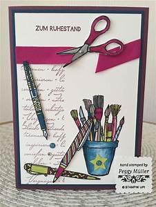 Müller Katalog 2017 : stampin up kreiert mit liebe in color 2017 bis 2019 karte zum ruhestand design peggy ~ Orissabook.com Haus und Dekorationen