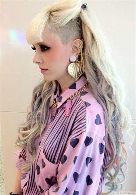 punk frisuren lange haare neue frisur stil