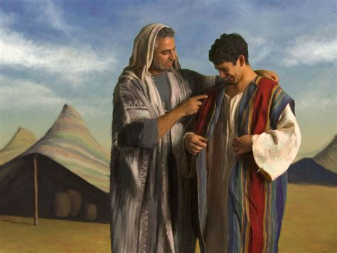 joseph and his coat of many colors portion inheritance two conditions of the human