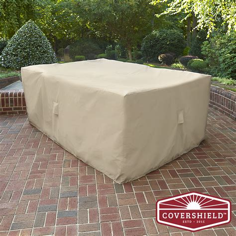 covershield rectangle furniture cover basic outdoor