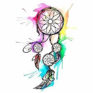 Tatouage Attrape Reve Homme : tatouage temporaire attrape r ves en couleurs pour femme ~ Melissatoandfro.com Idées de Décoration
