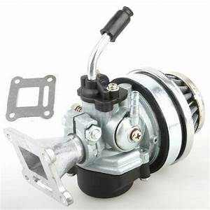 Performance Carburetor Air Filter Assembly 47 49cc Pocket Mini Bike Carb I Ca42