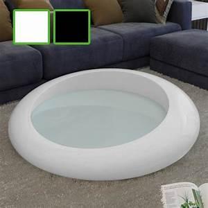 Couchtisch Rund Weiß Hochglanz : 11 couchtisch fiberglas atemberaubend alasco weiss hochglanz glasfaser 110cm lounge ~ Whattoseeinmadrid.com Haus und Dekorationen