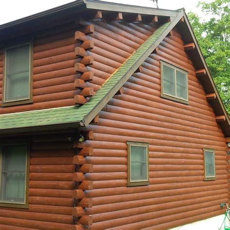 painting log cabin exterior colors studio design