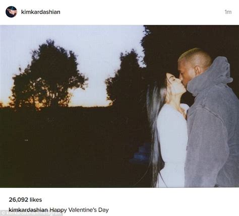 kim kardashian shares rare smooching snap with kanye