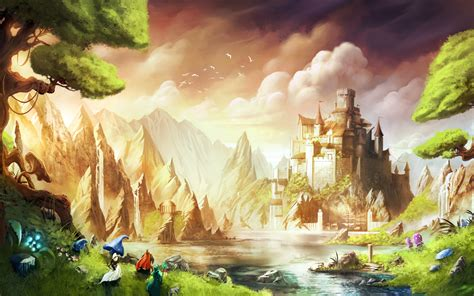 fairy world wallpaper gallery