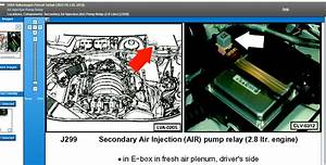 Fuse And Relay For Secondary Air Pump  I Got Codes P0491