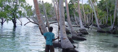 carteret islands ground zero for climate change