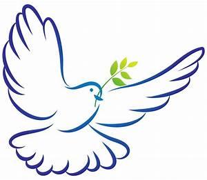 White Dove clipart communion - Pencil and in color white ...