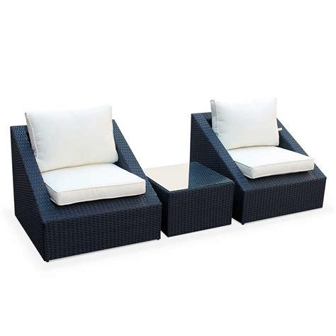 fauteuil salon de jardin resine tressee meilleures