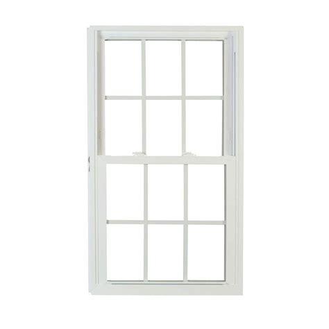 american craftsman       series double hung buck pro vinyl window  grille