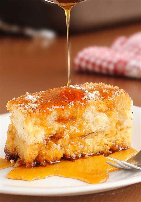 easy toast easy overnight french toast bake cakescottage