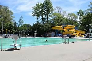 Prepping for the opening of Lynbrook's village pool ...