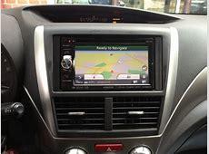 Subaru GPS Upgrade in 2009 Forester Replaces Broken