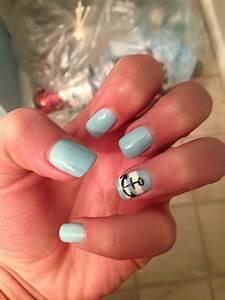 anchor nails pretty toe nails nails ingrown nail