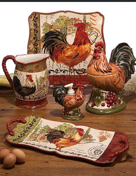 rooster accessories for the kitchen 242 best decoup gallos images on roosters 7807
