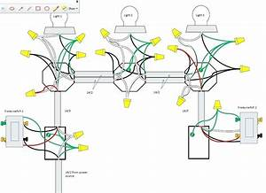 Wiring Diagram 3 Way Switch Multiple Lights And 4 Diagrams