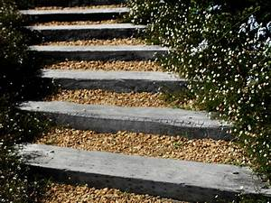 Comment Faire Des Marches Dans Un Talus : comment cr er un escalier ext rieur en bois leroy merlin ~ Melissatoandfro.com Idées de Décoration