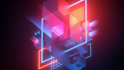 4k Abstract Wallpapers Conflict Digital Geometric Background