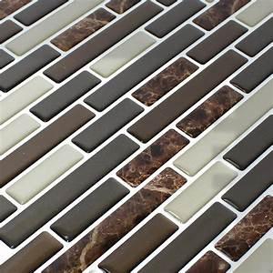 Vinyl Auf Fliesen : vinyl mosaik fliesen braun mix marmoriert ds33390 ~ Buech-reservation.com Haus und Dekorationen