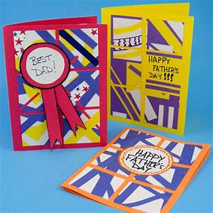 Make Simple Father's Day Cards - Father's Day Crafts ...