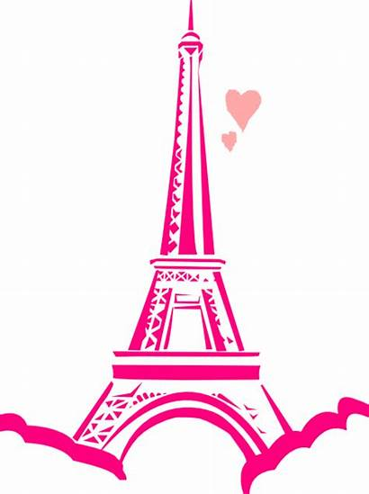 Paris Clip Clipart Cartoon Theme Svg Eiffel