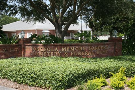 osceola memory gardens cemetery funeral homes crematory