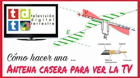 CÓMO HACER UNA ANTENA CASERA PARA VER LA TV (HD) FÁCIL Y