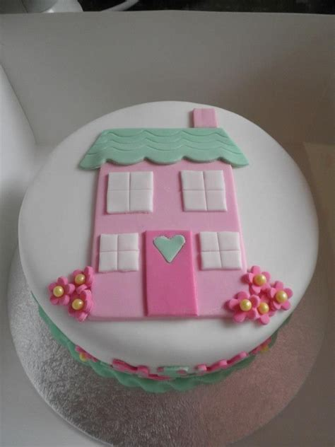 New Home Cake  Chef Cake  Pinterest  Cake, House Cake