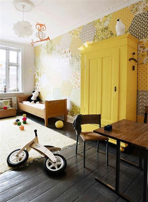 chambre enfant jaune 80 astuces pour bien marier les couleurs dans une chambre