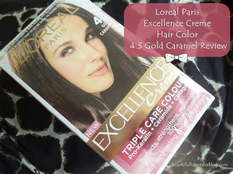 Loreal Paris Excellence Creme Hair Color 4.3 Gold Caramel