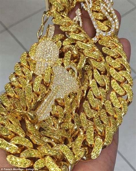 justin bieber  french montana   gold chain