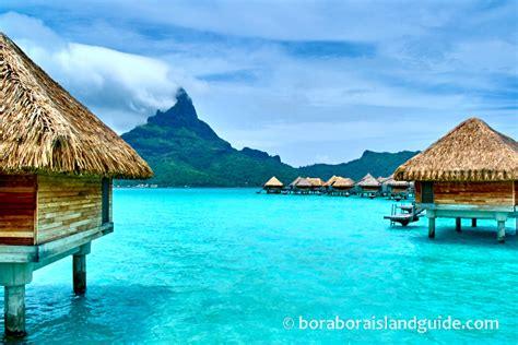 Bora Bora Overwater Bungalows At Bora Bora Resorts