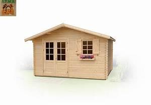 Cabanon En Bois : kit chalet de jardin sans permis de construire pommier 14 m ~ Premium-room.com Idées de Décoration