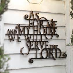 home design gifts blessings unlimited as for me and my house wall decor
