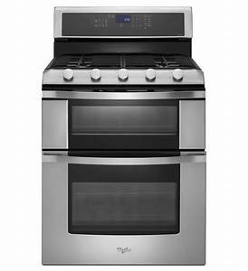 Whirlpool Wgg555sobs Double Oven Gas Range 220 Volts For