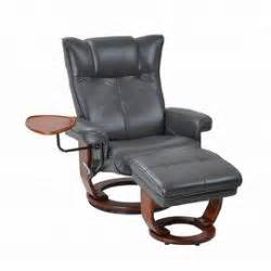 benchmaster washburn leather seating swivel recliner with