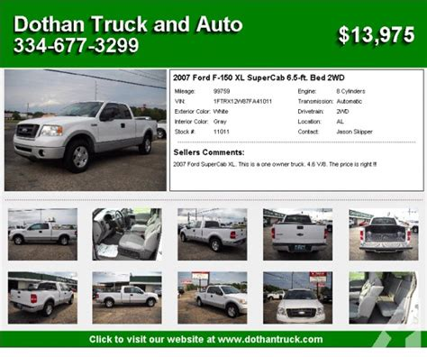 ford   xl supercab  ft bed wd dothan
