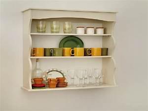 etagere murale pour cuisine idees de decoration With etagere murale de cuisine