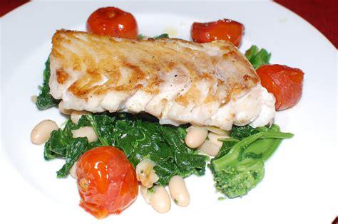 grouper pan seared broccoli rabe