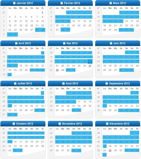 dessous de bureau calendrier 2012 s 39 actualiser sur pole emploi dates d