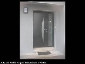 djimmy vaillant menuisier 85700 pouzauges With porte d entrée alu avec miroir de salle de bain avec éclairage led