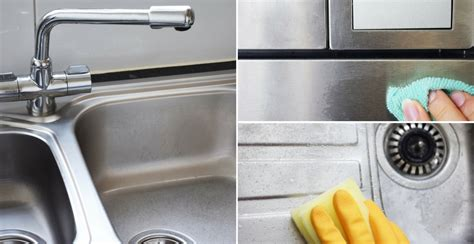 stainless steel sink cleaner reviews how to clean stainless steel sinks counters appliances