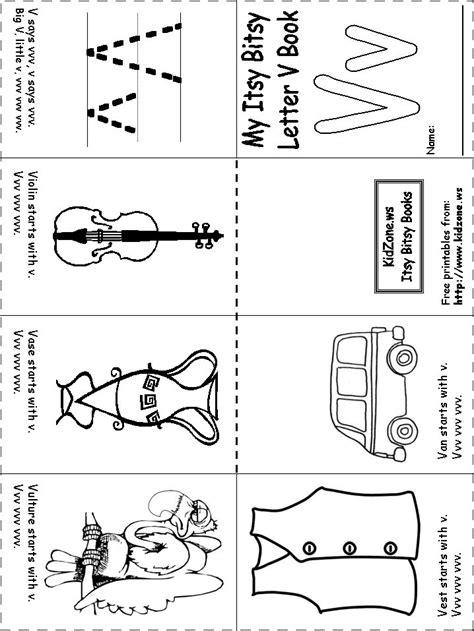 Letter V Worksheets Kindergarten  Letter V Worksheets
